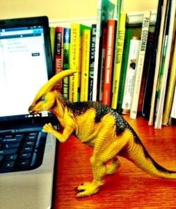 Parasaurolophus attack.